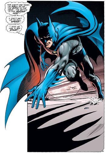 En Batman 251 vemos la pose definitiva del Batman de Neal Adams