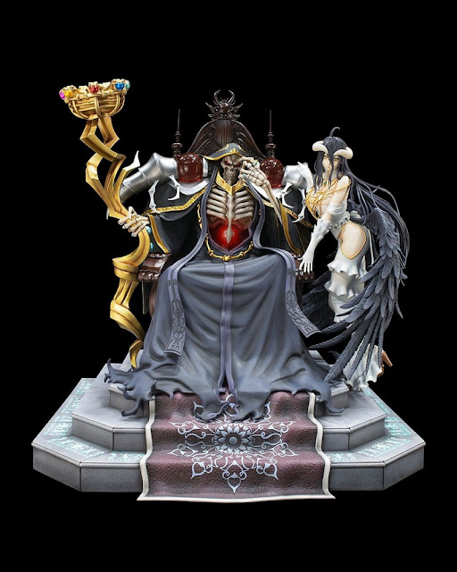 Overlord – Ainz Ooal Gown & Albedo set, KDcolle