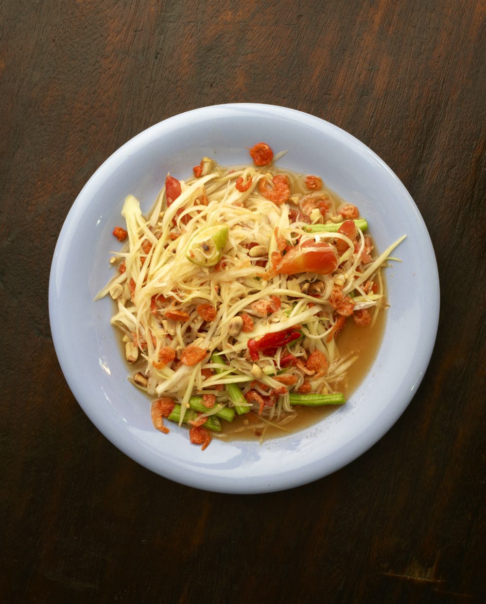 Green Papaya Salad. Photography: Jean-Pierre Gabriel für Schnell und Einfach: Thailändische Küche | Arthurs Tochter kocht. von Astrid Paul