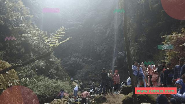 Libur Lebaran Menikmati Kesejukan Curug Badak Cisayong Kabupaten Tasikmalaya