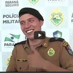 O caso do tenente da polícia que não conseguia ficar sério