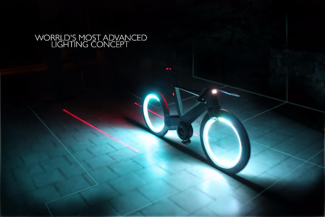 Cyclotron - Futuristic bike - Light weight bicycle