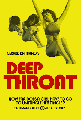 Głębokie gardło Deep Throat plakat filmu erotycznego złota era porno