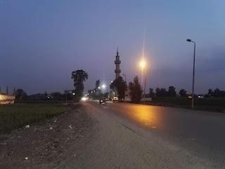 عبد الكريم يشدد على إصلاح وصيانة أعمدة الإنارة بمركز ديرب نجم محافظة الشرقيه