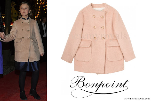 Princess Isabella wore BONPOINT Beige Coat