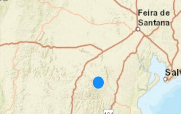 Tremores de terra são registrados em municípios baianos neste domingo