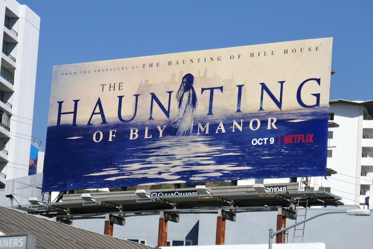 Haunting of Bly Manor series launch billboard