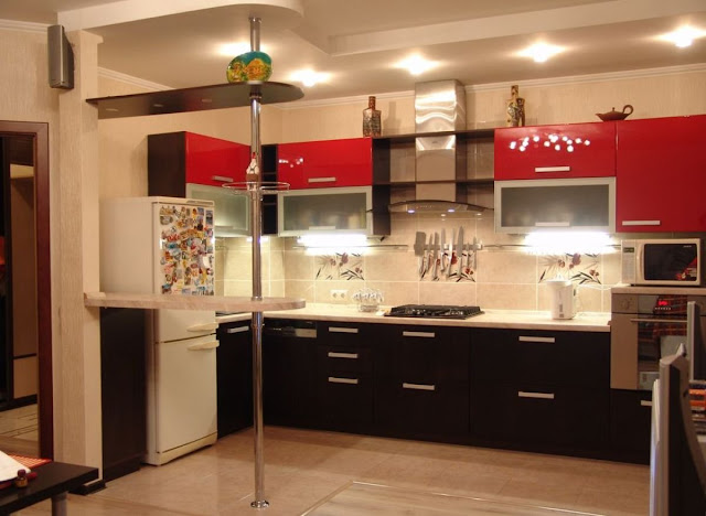 thiết kế ánh sáng cho nhà bếp