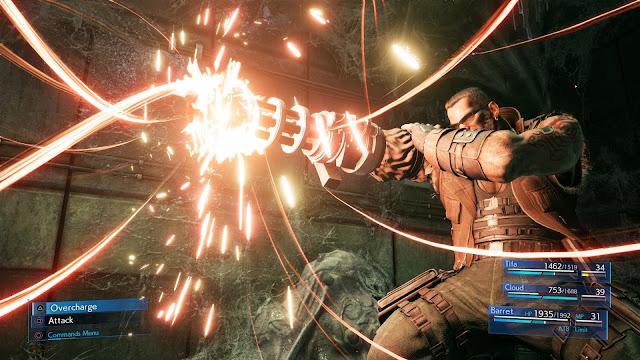 barret  Final Fantasy 7 Remake
