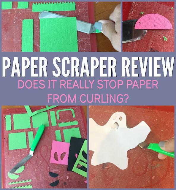 silhouette 101, silhouette america blog, paper scraper, Silhouette paper cuts, Paper cutting machine