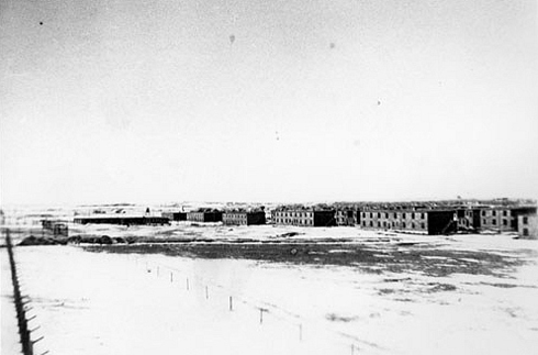 pow camp 132 medicine hat alberta archival images