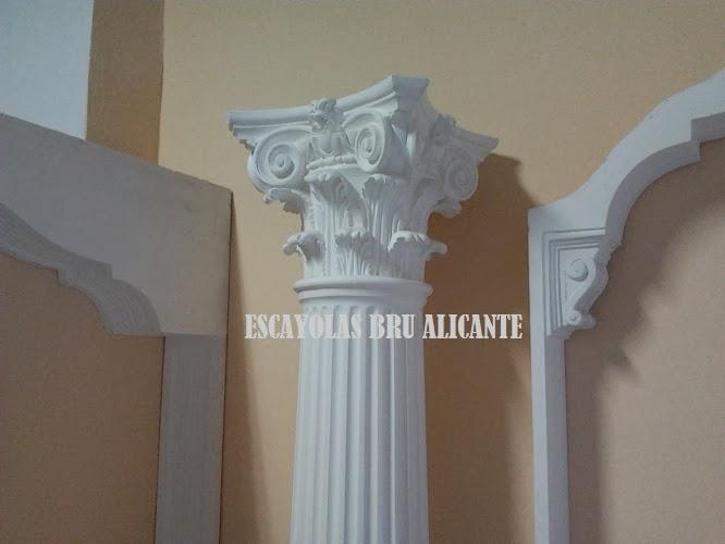 Escayolas bru alicante columnas m nsulas capiteles - Cuadros para dormitorios leroy merlin ...