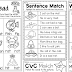 English Worksheets (Set 1) Ready to Print