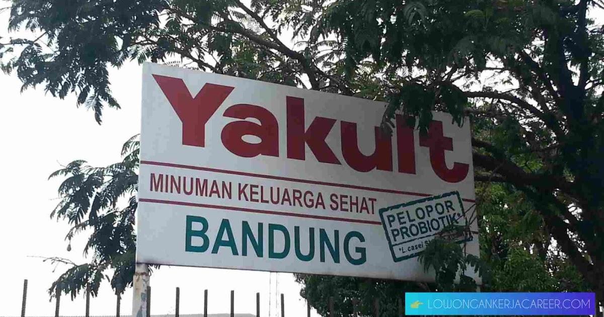 Lowongan Center Coordinator Pt Yakult Indonesia Persada Bandung 2021