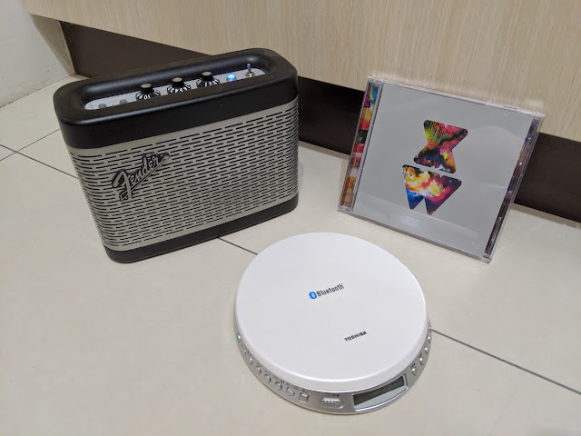 [科技] [音響] TOSHIBA TY-P3 CD隨身聽開箱:支援藍牙無線播放,聽CD是老樂迷的浪漫(影音介紹)