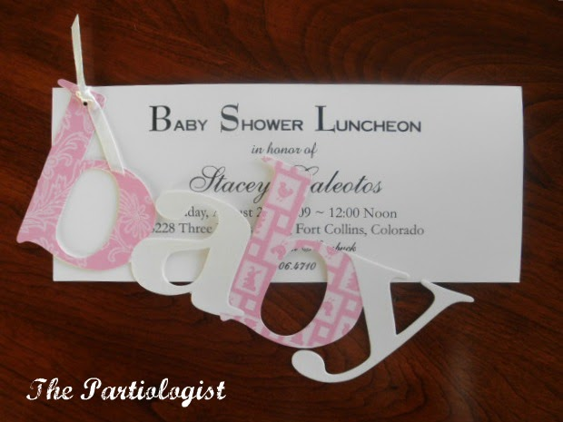 The Partiologist: Baby Shower!