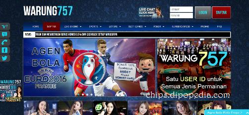 Beranda Situs Web Warung757 - Chips