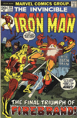 Iron Man #59, Fire-Brand