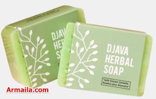 DJAVA Herbal Soap Centella Asiatica Plus Aloevera  ARMAILA DROPSHIPPER