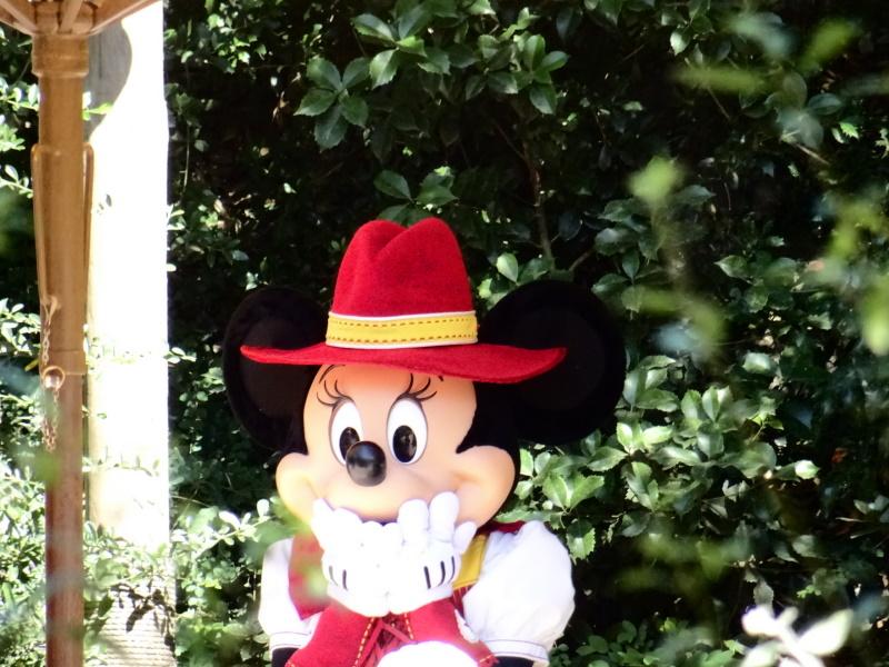 Ouverture de Disneyland Paris, photo de Minnie western