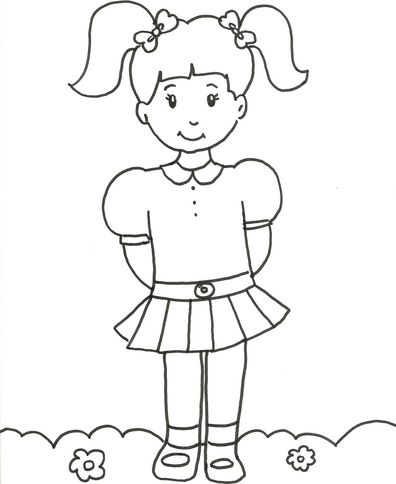 Desenhos Para Pintar Pintar Desenhos Para Meninas Colorir