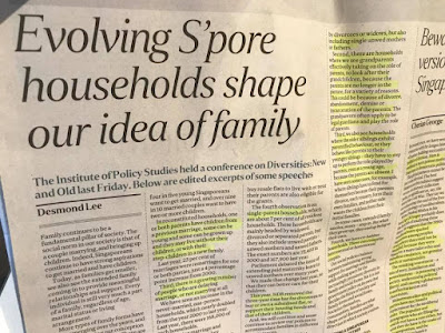 Desmond Lee and Cherian George: Reconstituted Families and teh Singapore Dream.