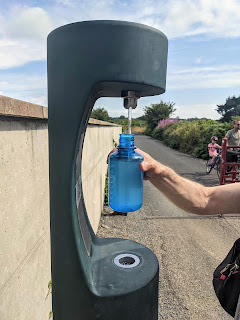 Water refill station on the Waterford Greenway