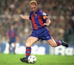 Former Barca legend Ronald Koeman named Barcelona head coach after Setien sacked.