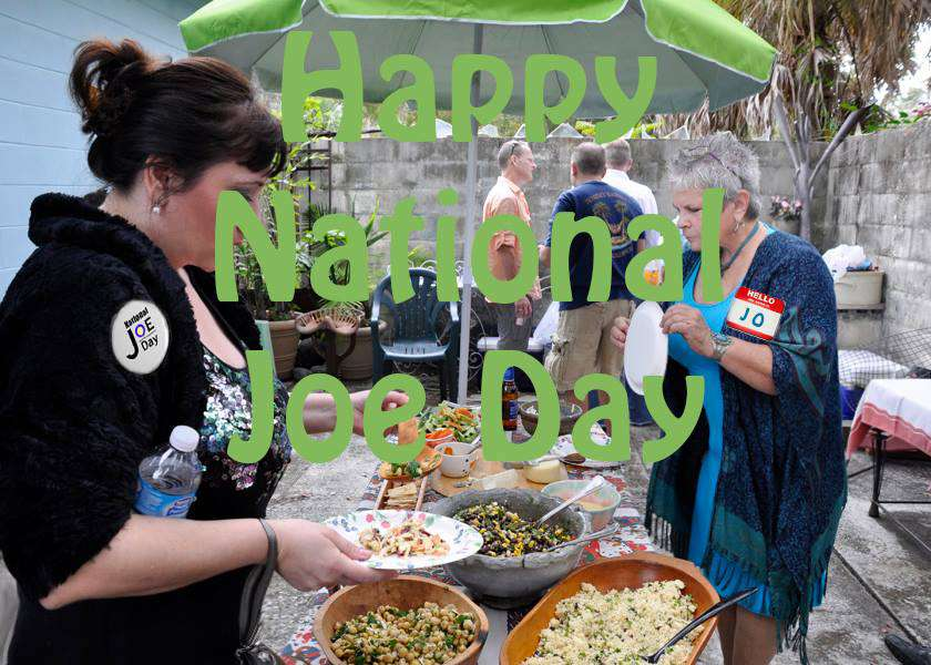National Joe Day Wishes Images download