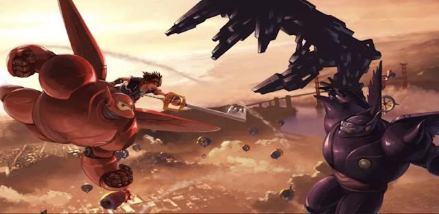 Pronto podremos ver el mundo de Big Hero 6 en Kingdom Hearts 3