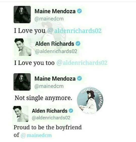 Alden and maine dating in real life