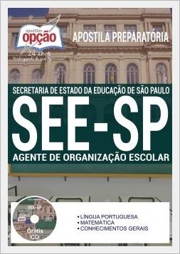 Apostila SEE SP Agente de Organização Escolar