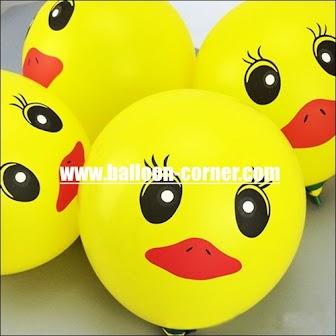Balon Latex Printing BEBEK
