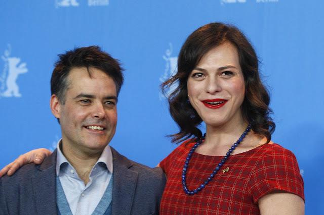 Les deux têtes du film : Sebastián Lelio (scénariste/réalisateur) et Daniela Vega (actrice)