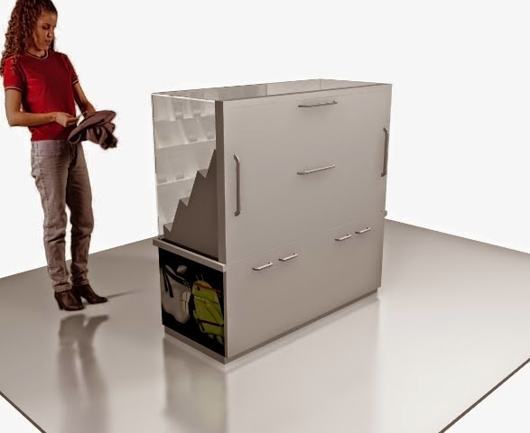 Design 3d Kiosk Produk Smartphone