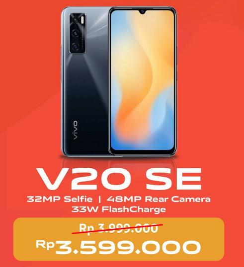 Harga Vivo V20 SE Terbaru di Indonesia dan Spesifikasi