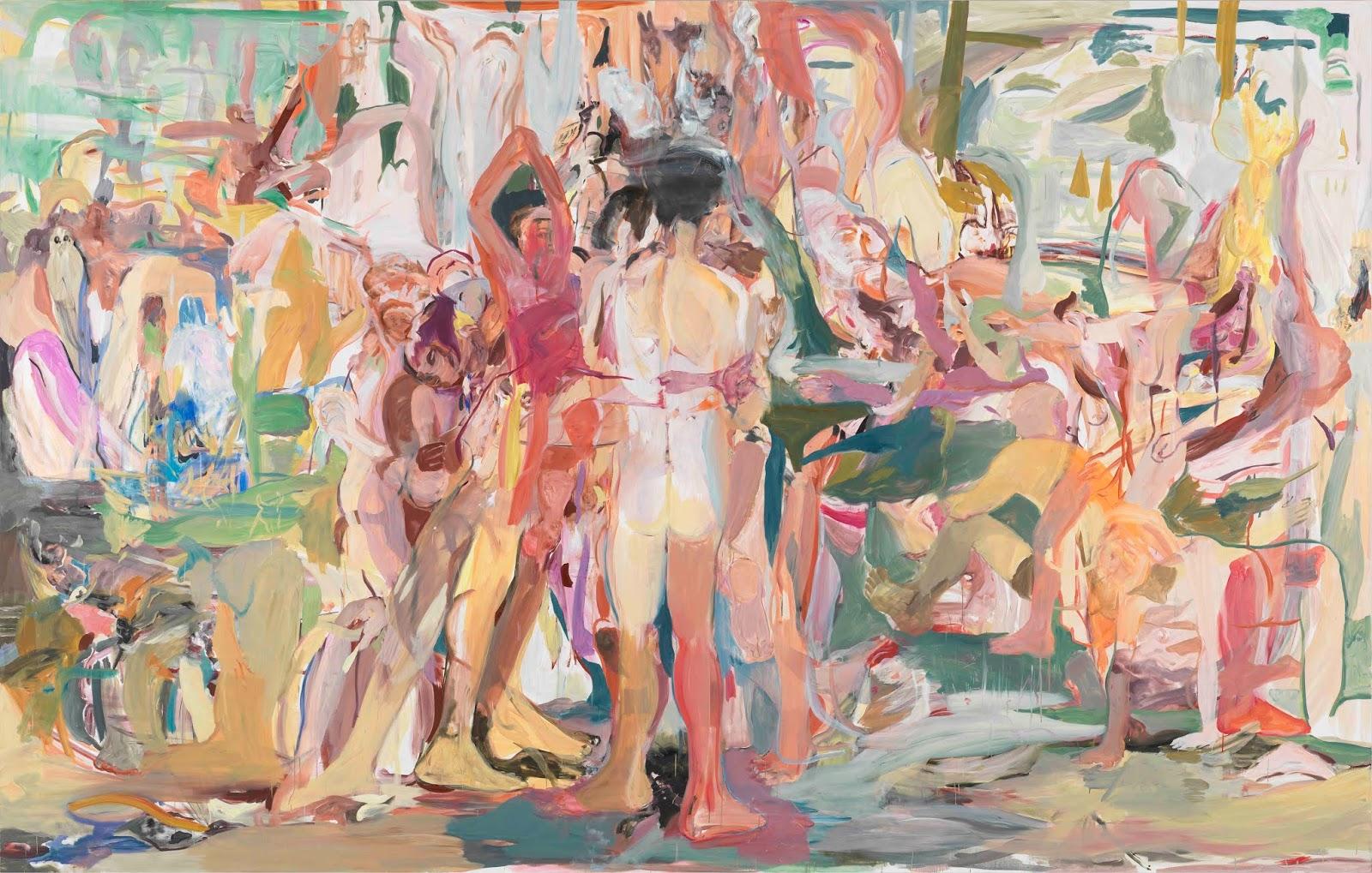 cecily brown artistas mujeres figuracion abstraccion arte contemporaneo
