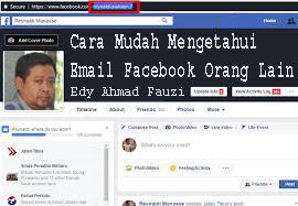 Cara Mudah Mengetahui Email Facebook Orang Lain 1