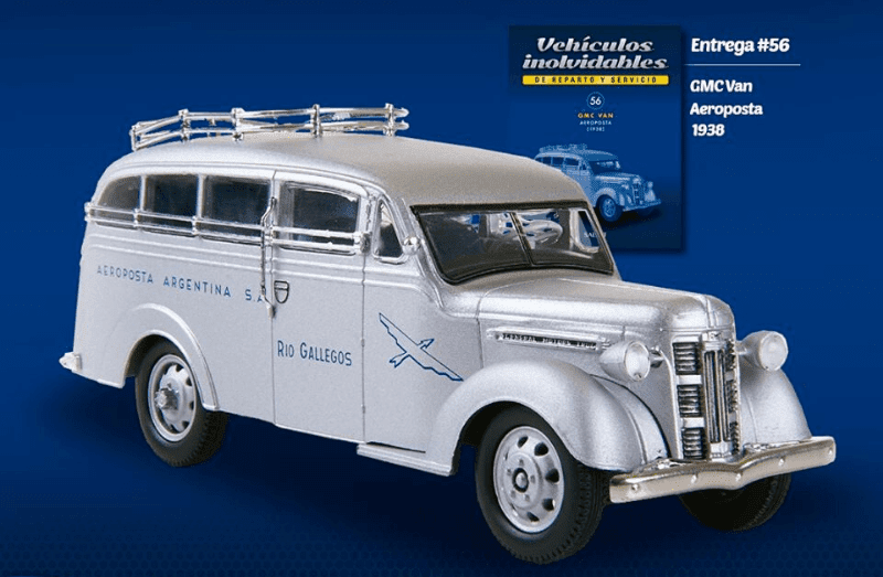 GMC Van 1938 Aeroposta Vehículos inolvidables de reparto y servicio
