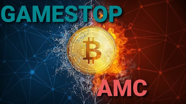The rise in stock prices of GME and AMC may have an impact on crypto meme coins, but not so much on BTC?