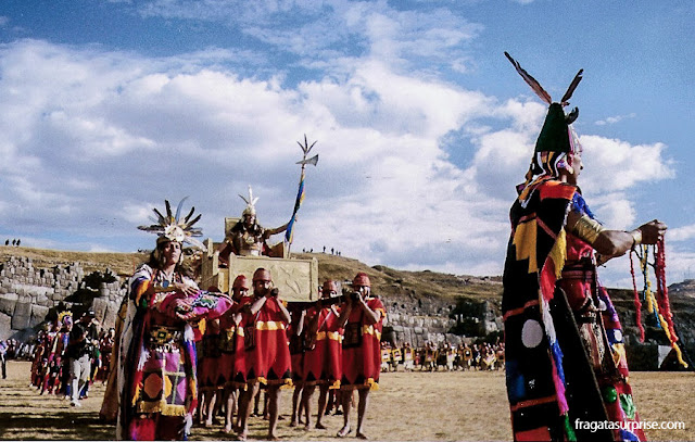 Festa do Sol em Cusco: a chegada do Inca