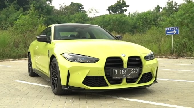 BMW M4 Coupe Competition | Garang dan Kencang!