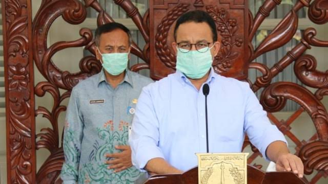 Karena Ketegasan Anies, Angka Penularan Virus di Jakarta Menurun