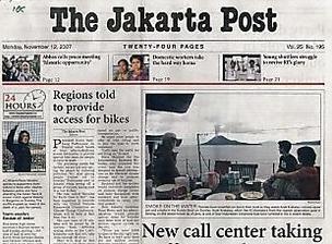 Lowongan kerja PT Bina Media Tenggara (The Jakarta Post) jakarta