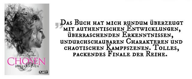 """Highlight Oktober 17: """"Chosen 2: Das Erwachen"""" von Rena Fischer"""
