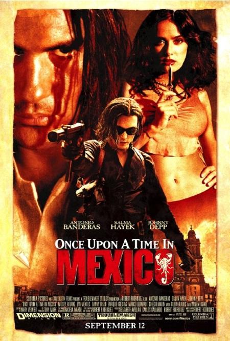 Bir Zamanlar Meksika'da (2003) 1080p Film indir