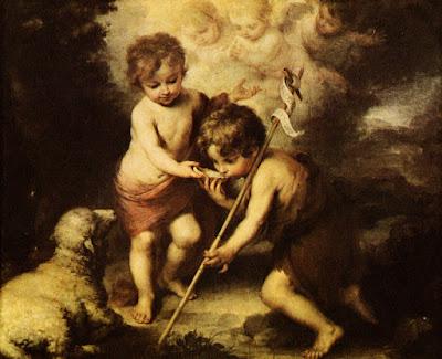 Postal: Los niños de la Concha Museo del Prado. Editorial Escudo de Oro