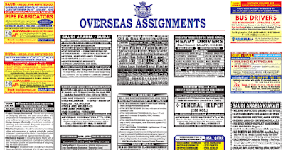 Assignment Abroad Times Latest Gulf Jobs