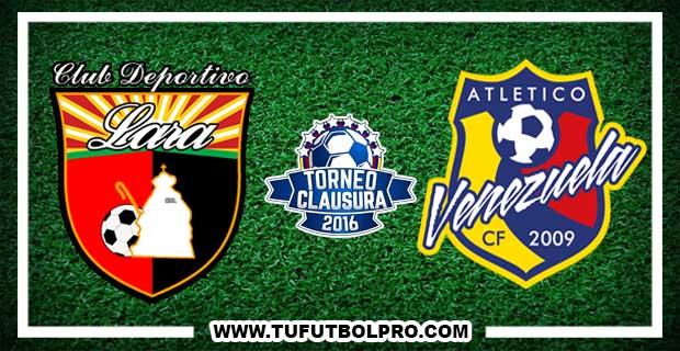Ver Deportivo Lara vs Atlético Venezuela EN VIVO Por Internet Hoy 31 de Octubre 2016