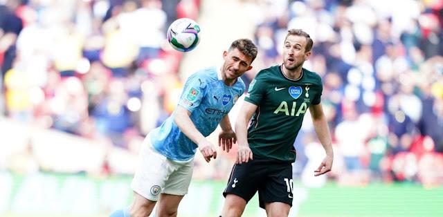 ملخص وهدف فوز مانشستر سيتى علي توتنهام (1-0) نهائي كاس الرابطة الانجليزية